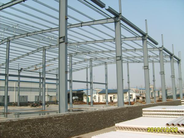 (强烈推荐)某钢结构工程厂房,办公楼项目施工组织设计