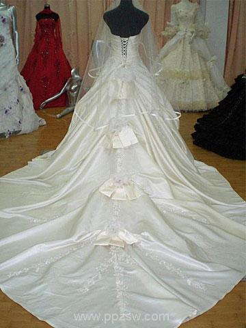 度婚纱手绘设计图
