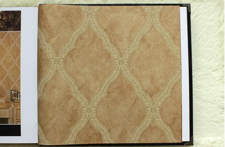 沃莱菲墙纸 简约欧式低调奢华复古风 客厅卧室背景图片