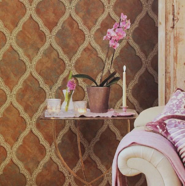 沃莱菲墙纸 简约欧式低调奢华复古风 客厅卧室背景
