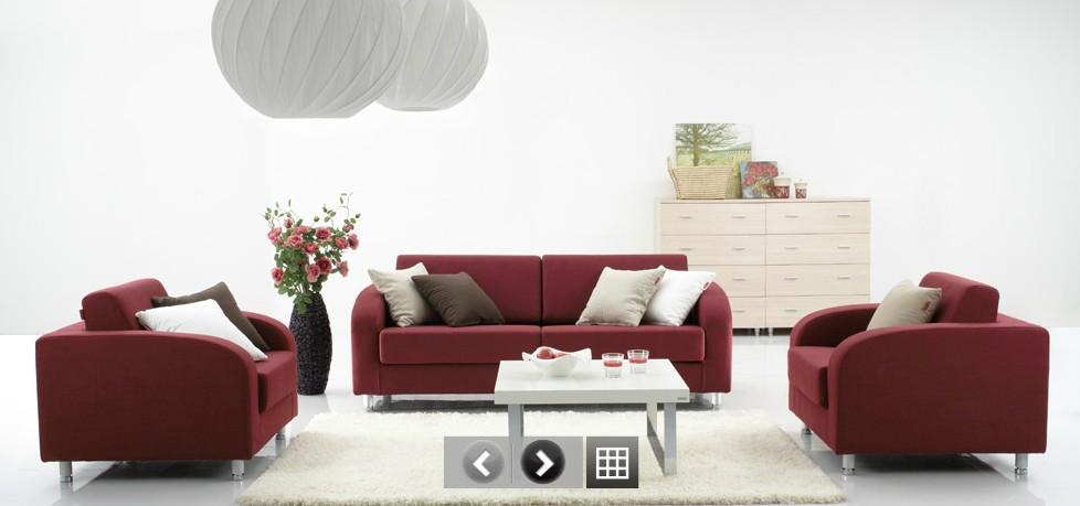 红苹果家居之沙发展示