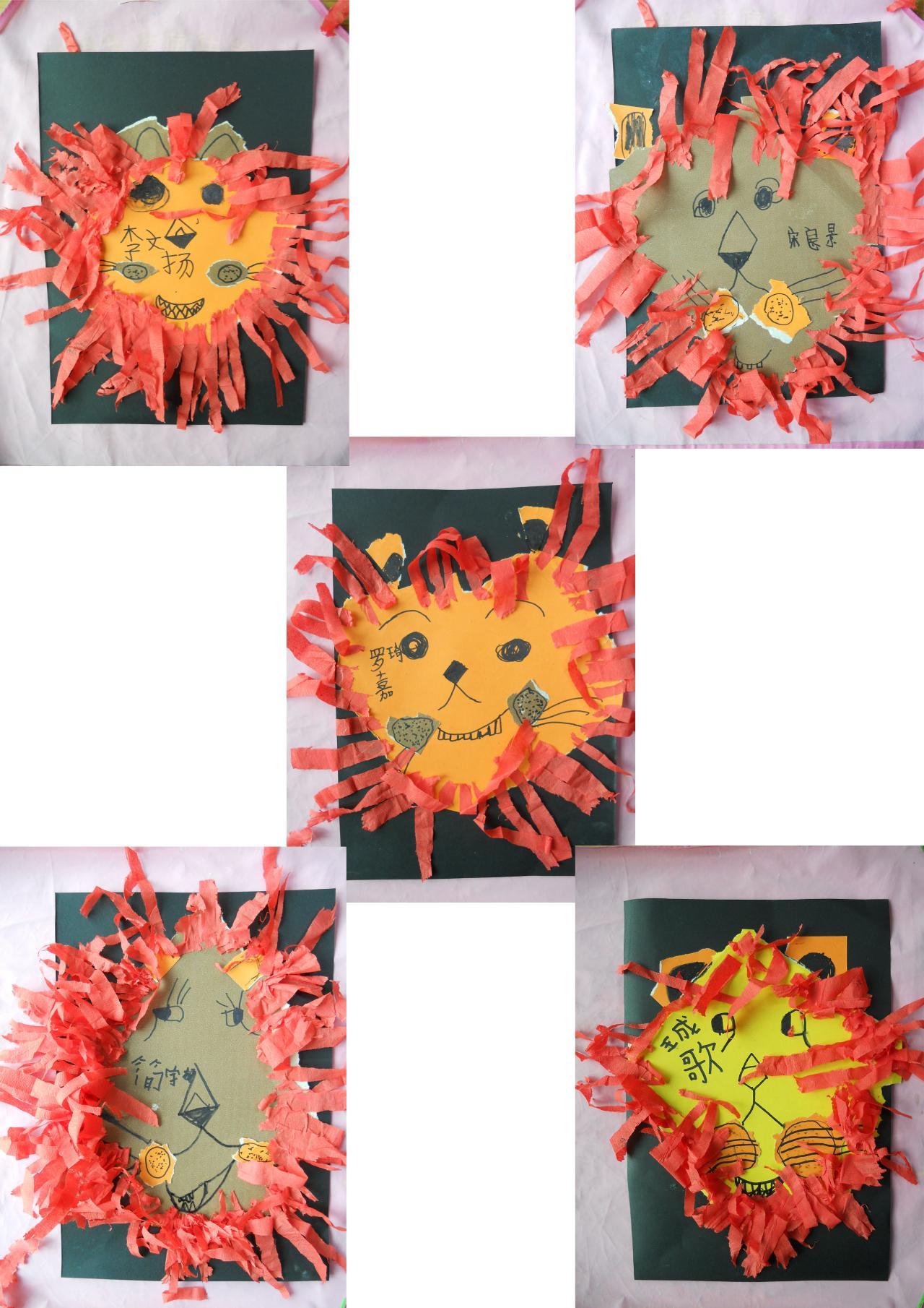 幼儿园创意手指点画_幼儿园小班手指点画幼儿园大