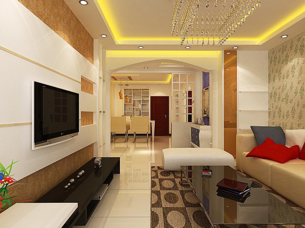 146平三室两厅户型现代欧式