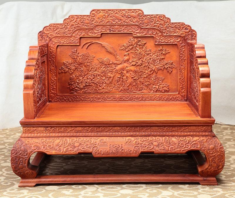 牡丹宝座11件套沙发