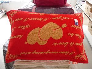 金�新款枕巾