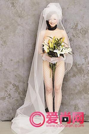 80后创意裸体婚纱照成为潮流图片