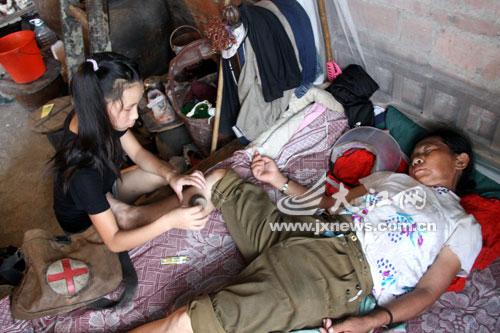 [求助]瑞昌14岁女孩照料智障母亲撑起一个家