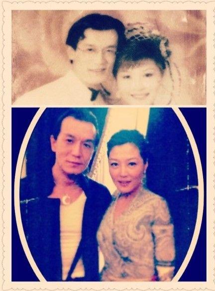 哈文晒与李咏结婚照 wbr 叹夫妻二十年缘分