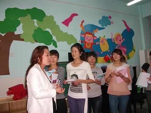 中牟东风路幼儿园举行环境创设评比活动