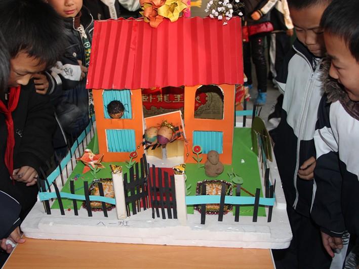 幼儿园折纸手工画展