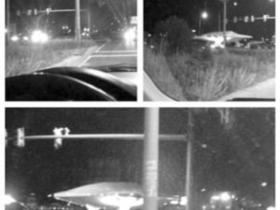 美国高速公路现类似UFO物体 被空军运走