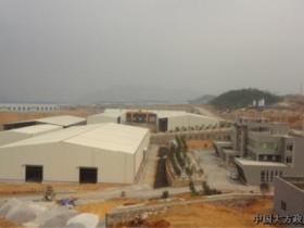 循环产业园区标准化厂房建设顺利推进