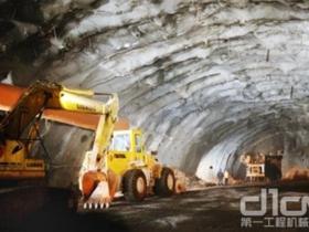 溧阳抽水蓄能电站建设添加了力士德挖掘机
