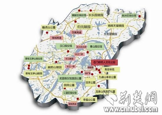 九峰山森林野生动物园地图