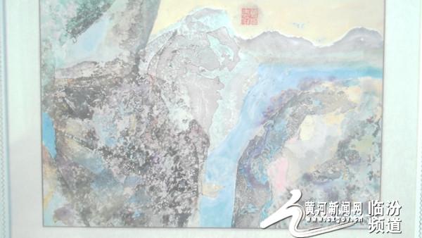 乡宁:七旬农民画家曾成志独创水纹画
