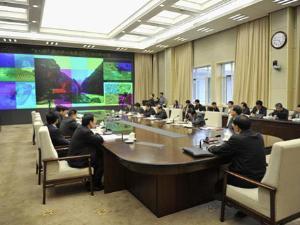 李克强与雅安地震抗震救灾前线通话