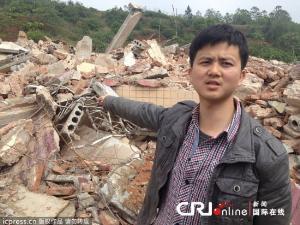 衡阳居民楼遭强拆 官员称做法应获理解(图)