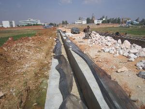 大莫古镇5千亩中低产田地改造项目建设进展顺利