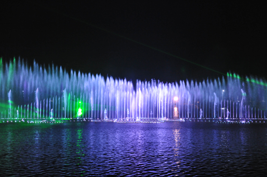 喷泉揭开神秘面纱