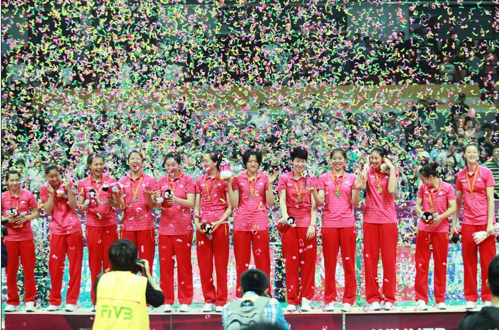 2013中国国际女排精英赛北仑站闭幕 高清图片