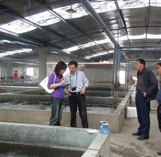 2亿尾)送天津市水生动物疫病预防控制中心进行白斑