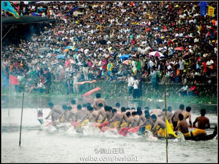 鹤山市古劳龙舟协会将于2013年6月10日至12日(即农历五月初三至初五)