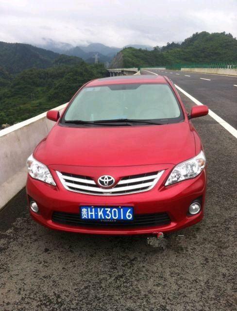 丰田 卡罗拉 2011款 1.6 GL天窗版4AT