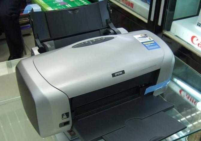 转让一台爱普生R230六色独立墨盒高性价比