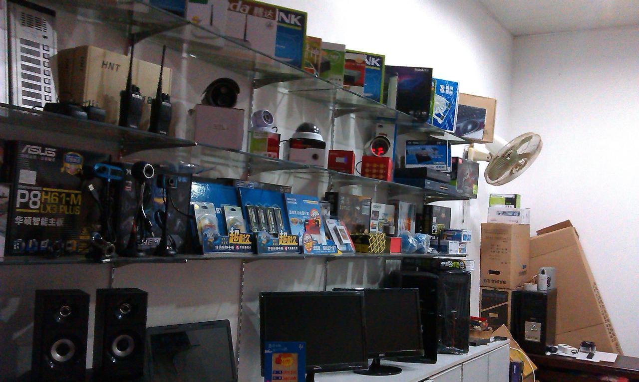 销售电脑、电脑维修、监控安装、楼宇对讲、门禁系统、