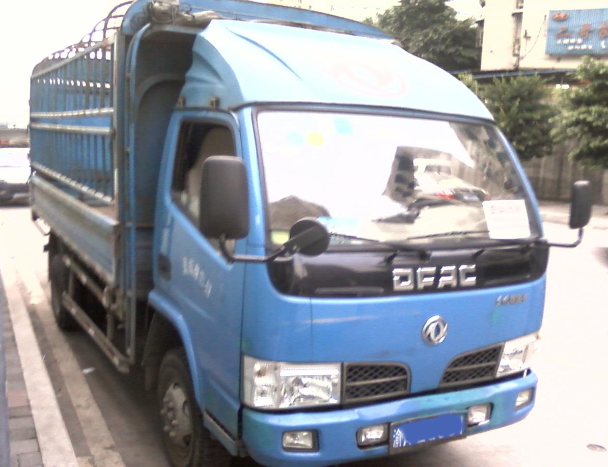 東風輕卡貨車出租 貨箱長4.2米 寬2米