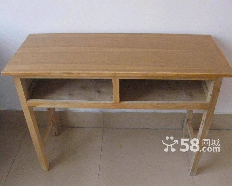 转让学生用木质双人课桌