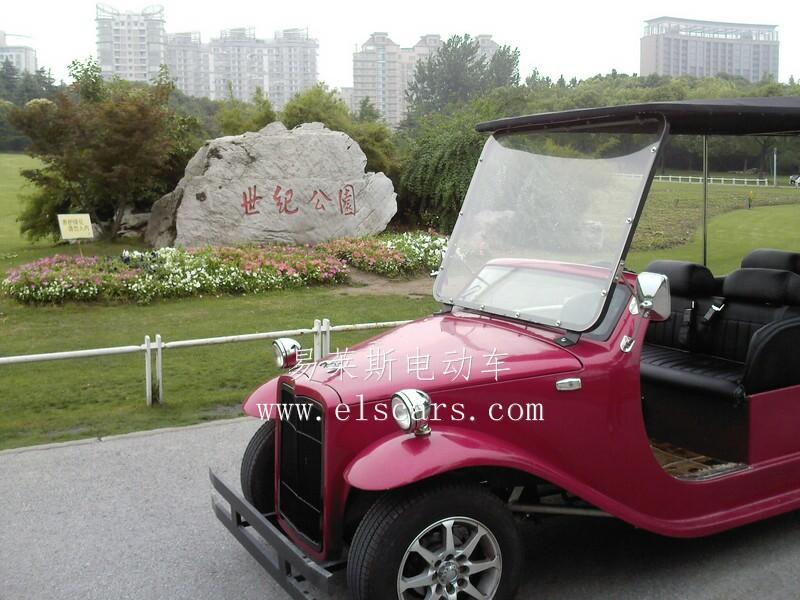 高品质,气派外观电动观光车