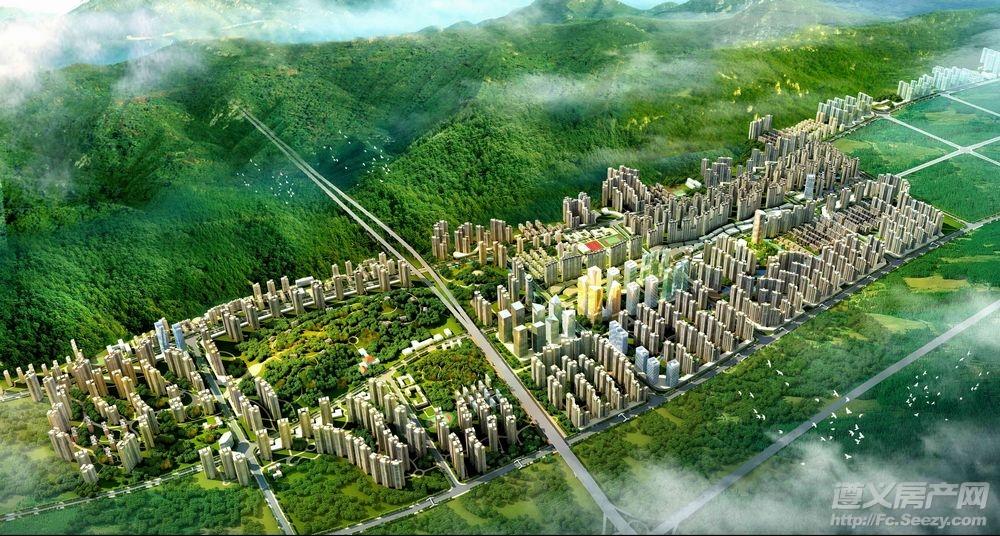 2012年3月保利未来城市实景图