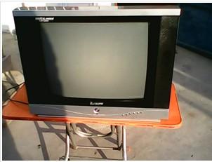 急出21寸彩色電視