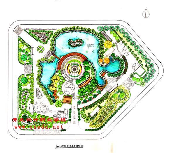 景观设计专业深度培训与职业特色-齐生设计学校