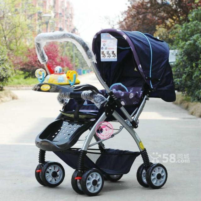 角美原价428元多功能婴儿手推车250元转让