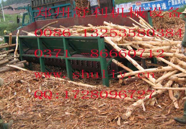 樹脫皮機,圓木粉碎機,木材脫皮機