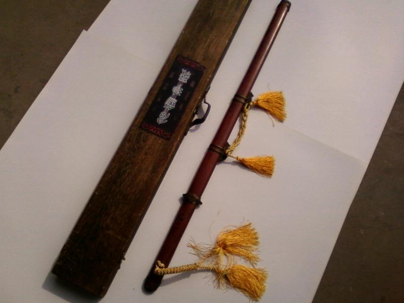 体育用品,龙泉手工刀剑,户外小刀