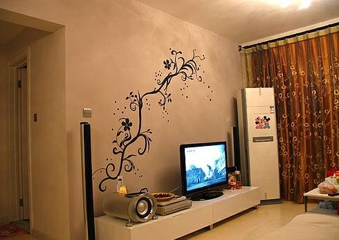 大气高雅的客厅,电视背景墙