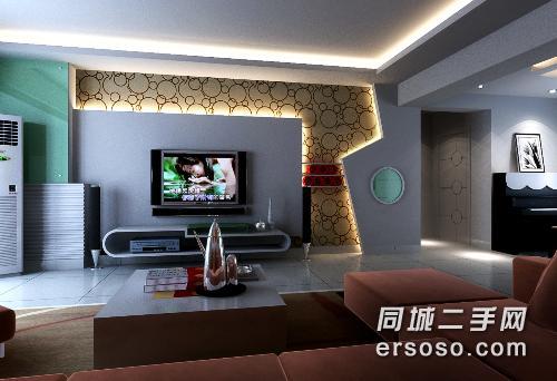 华府 三房二厅 139平 二梯二户 豪华装修 7600元