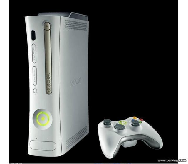 出售自用 XBOX360 微软游戏机 插电视就能玩
