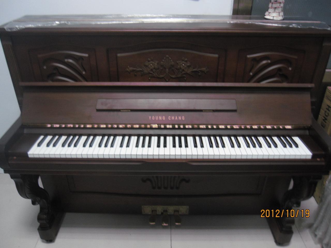 韩国日本原装进口二手钢琴新货到柜了