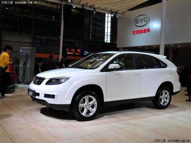 出手九九成新SUV-比亚迪S6