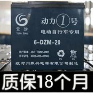 云沙牌电动车电池48V20A