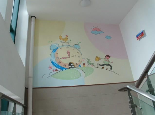 兒童房,學校墻畫作品