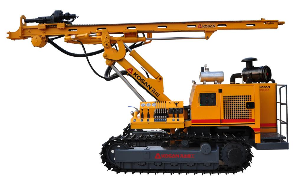 孔山KS268履带式液压潜孔钻车孔山螺杆空压机
