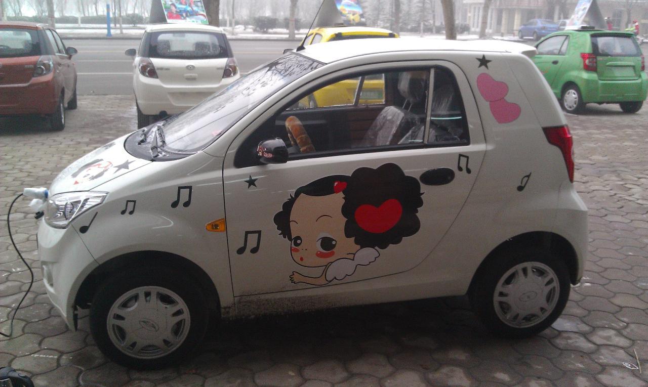 销售唐骏电动汽车高清图片