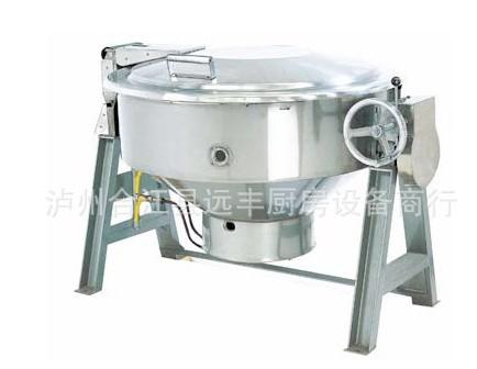 厂家批发可倾燃气炒锅、永川厨房设备、重庆厨房设备