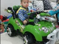 儿童电动车童车遥控四轮可坐儿童电动汽车宝宝车玩大吉