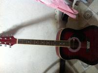 吉它最近一个月出售,年后离开鄱阳